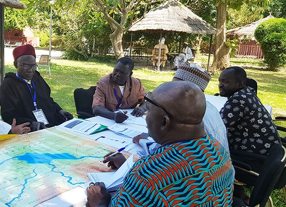 Photo taken at the meeting Water Diplomacy Dialogue in the Lake Chad basin, which took place in November 2019