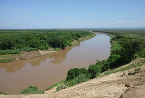 Omo river basin valley, Ethiopia
